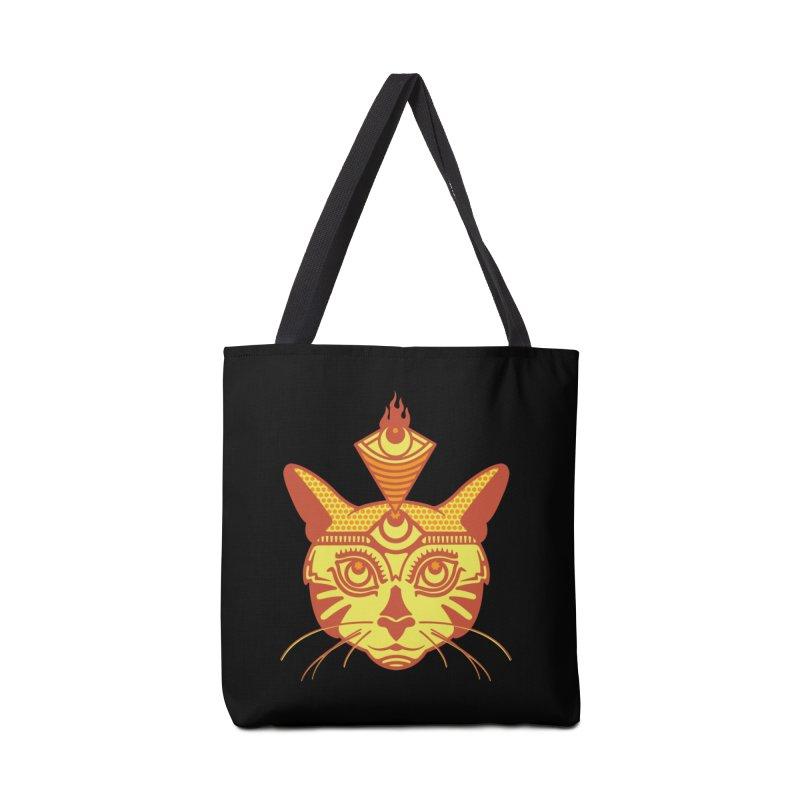 LIGHTCAT Accessories Bag by kukulcanvas's Artist Shop