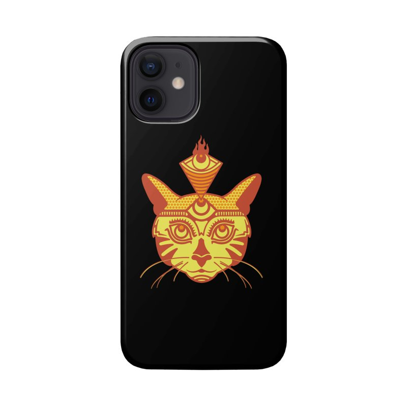 LIGHTCAT Accessories Phone Case by kukulcanvas's Artist Shop