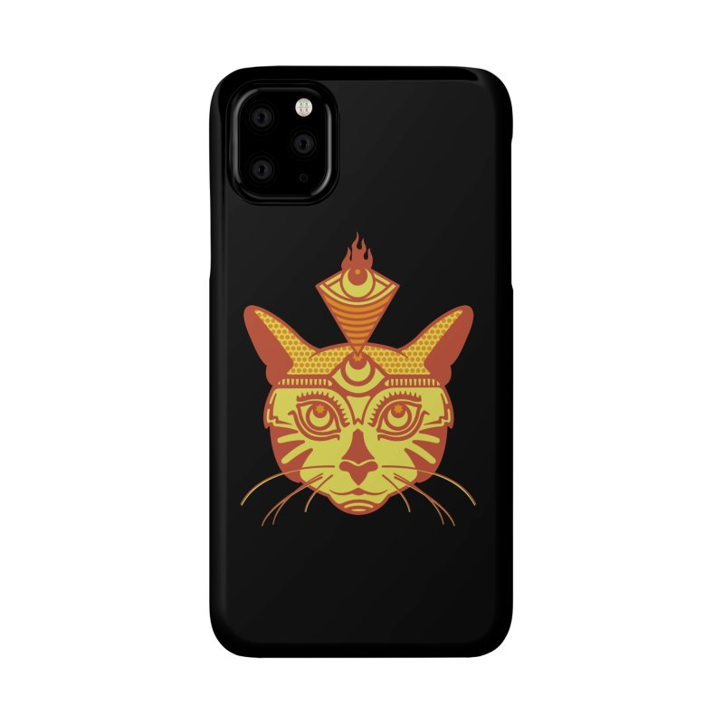 LIGHTCAT Accessories Phone Case by kukulcanvas's Artist Shop