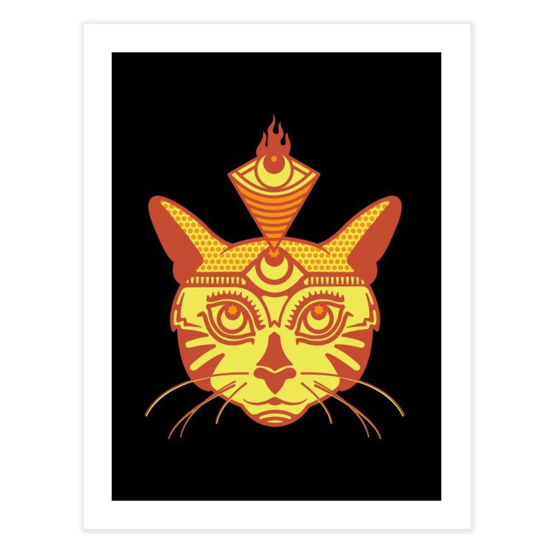 LIGHTCAT Home Fine Art Print by kukulcanvas's Artist Shop