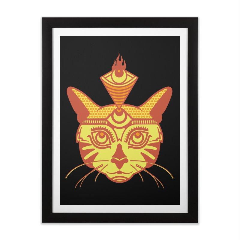 LIGHTCAT Home Framed Fine Art Print by kukulcanvas's Artist Shop