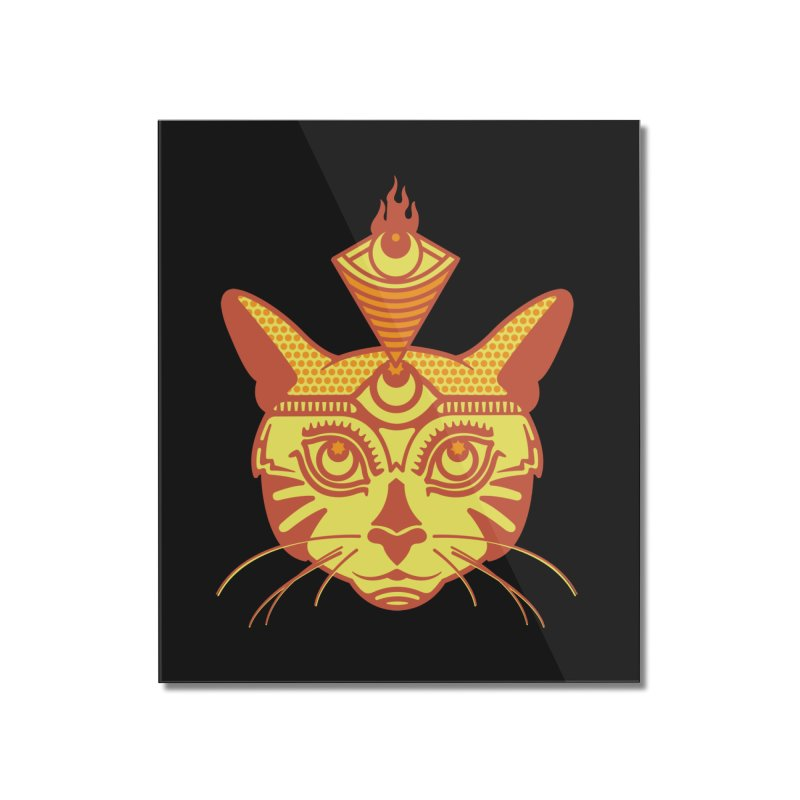 LIGHTCAT Home Mounted Acrylic Print by kukulcanvas's Artist Shop