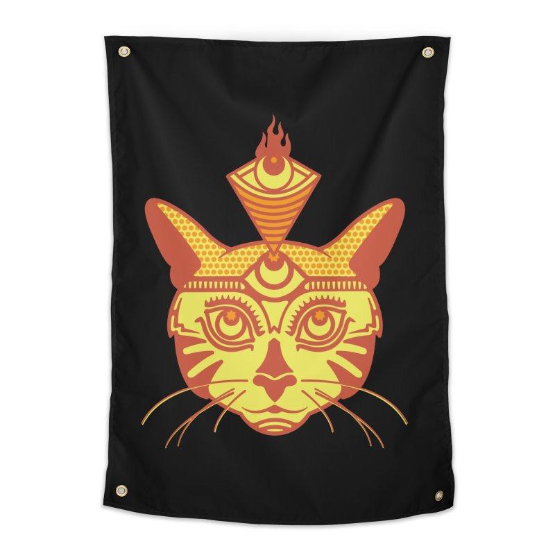 LIGHTCAT Home Tapestry by kukulcanvas's Artist Shop