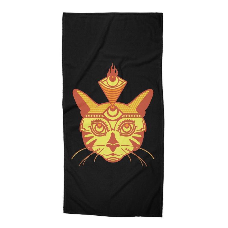 LIGHTCAT Accessories Beach Towel by kukulcanvas's Artist Shop
