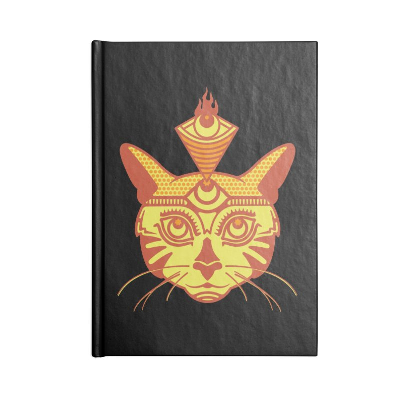 LIGHTCAT Accessories Notebook by kukulcanvas's Artist Shop