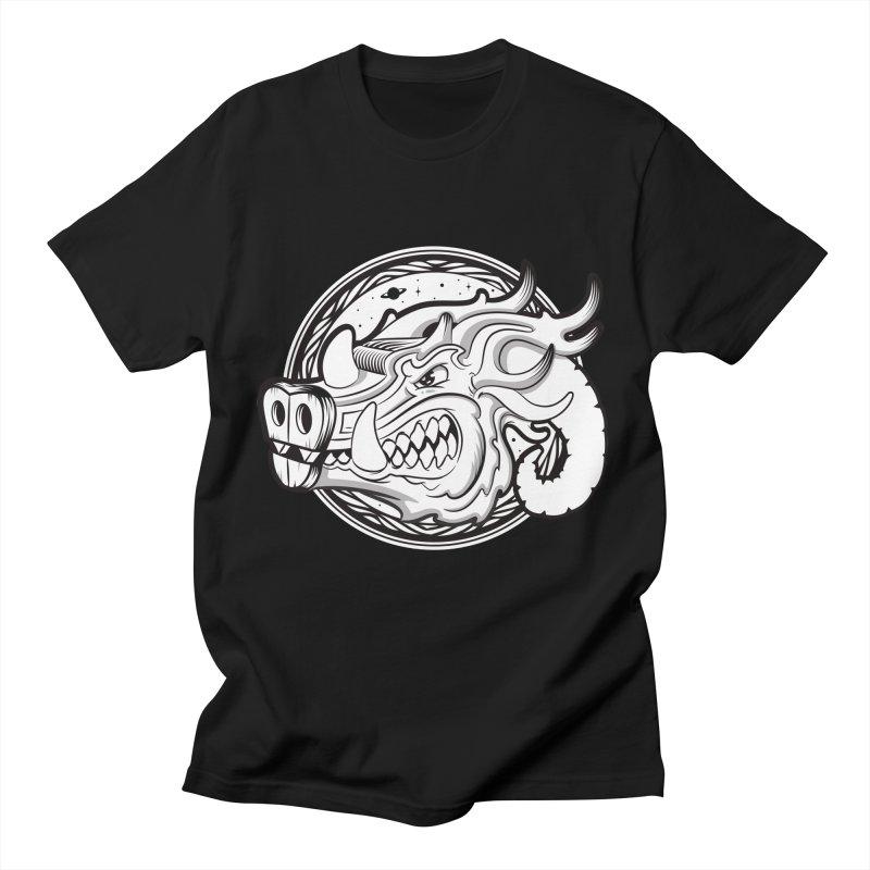 VIKING Men's T-Shirt by kukulcanvas's Artist Shop