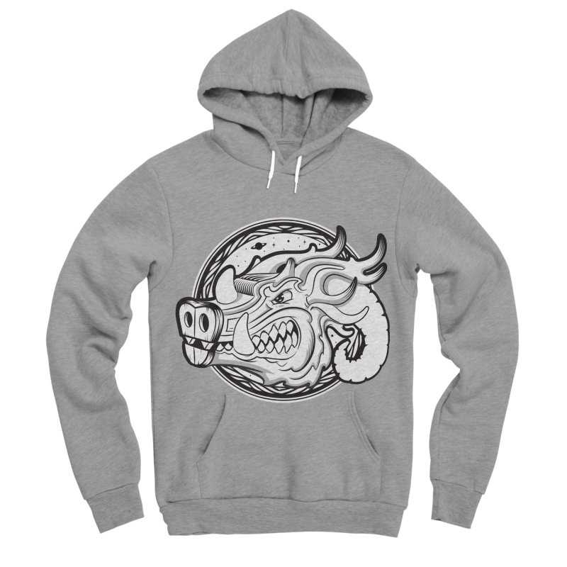 VIKING Men's Sponge Fleece Pullover Hoody by kukulcanvas's Artist Shop