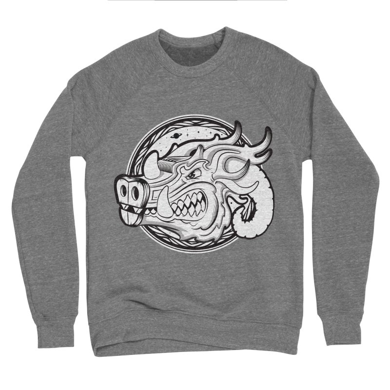 VIKING Men's Sponge Fleece Sweatshirt by kukulcanvas's Artist Shop