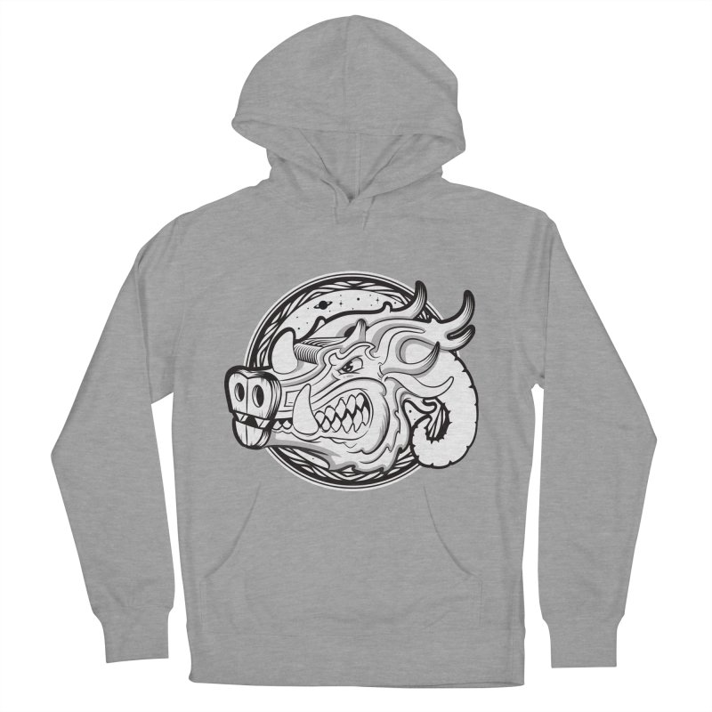 VIKING Men's French Terry Pullover Hoody by kukulcanvas's Artist Shop