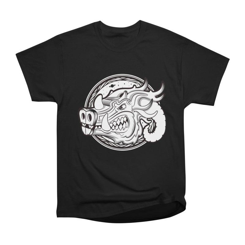 VIKING Women's Heavyweight Unisex T-Shirt by kukulcanvas's Artist Shop