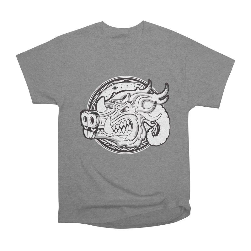 VIKING Men's Heavyweight T-Shirt by kukulcanvas's Artist Shop