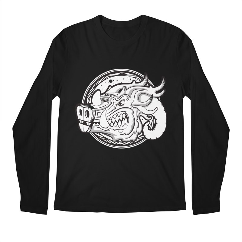 VIKING Men's Regular Longsleeve T-Shirt by kukulcanvas's Artist Shop