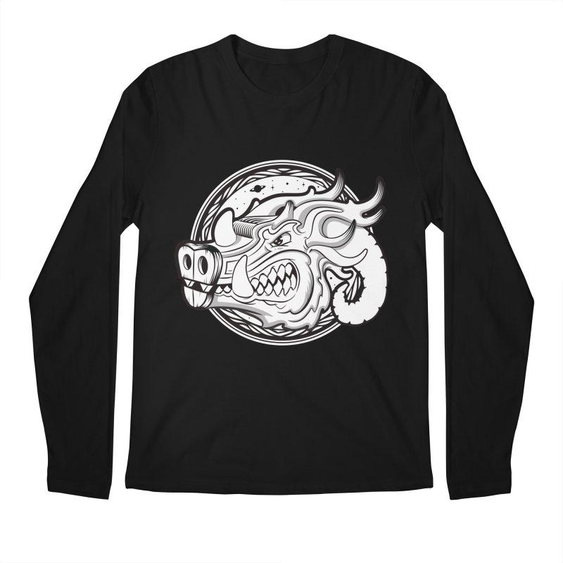 VIKING Men's Regular Longsleeve T-Shirt by kukulcanvas's Artist Shop