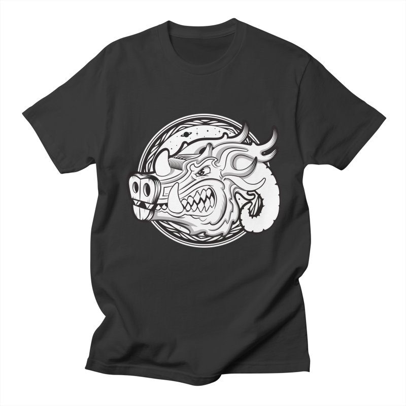 VIKING Men's Regular T-Shirt by kukulcanvas's Artist Shop