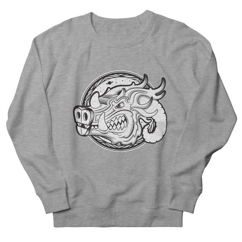 VIKING Men's French Terry Sweatshirt by kukulcanvas's Artist Shop