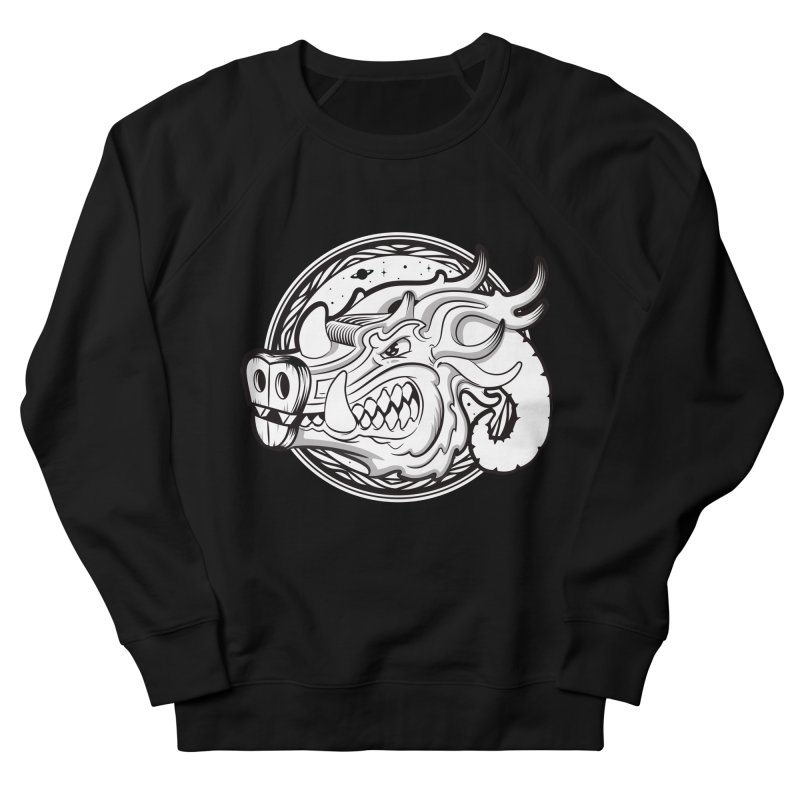 VIKING Men's French Terry Sweatshirt by kukulcanvas's Artist Shop