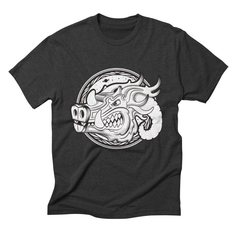 VIKING Men's Triblend T-Shirt by kukulcanvas's Artist Shop