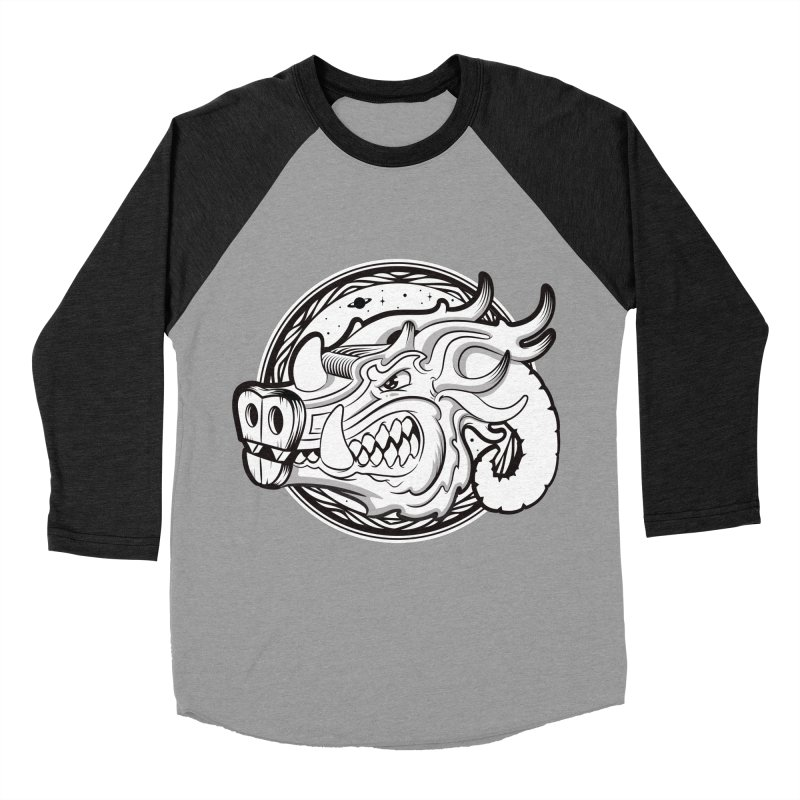 VIKING Women's Baseball Triblend Longsleeve T-Shirt by kukulcanvas's Artist Shop