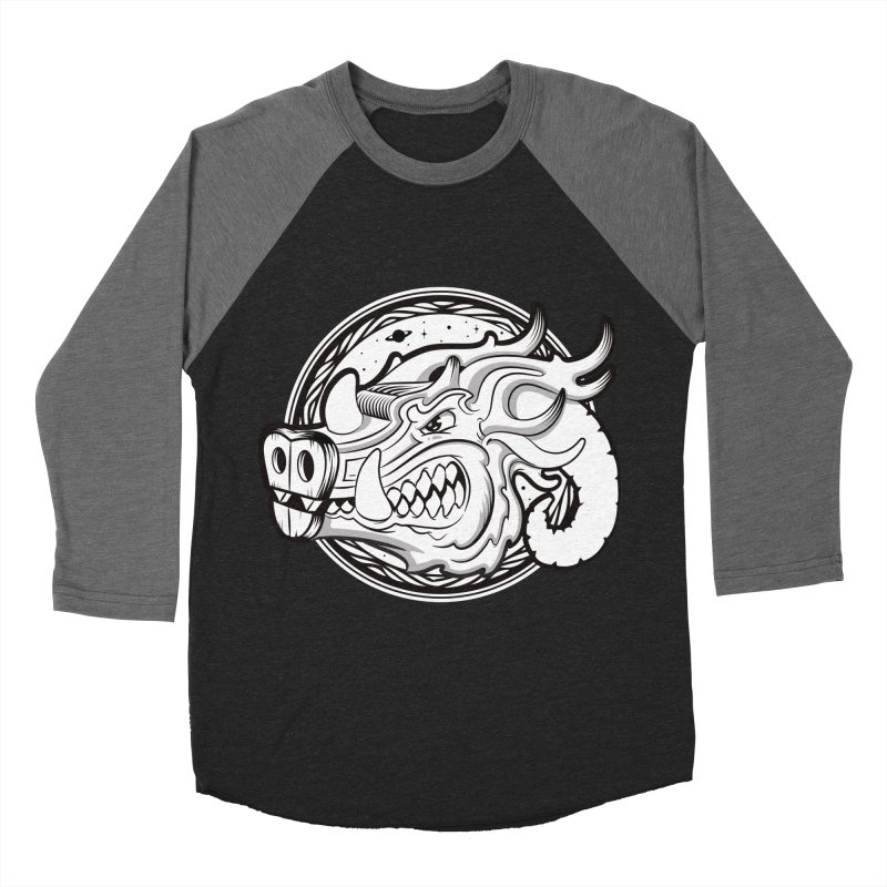 VIKING Men's Baseball Triblend Longsleeve T-Shirt by kukulcanvas's Artist Shop