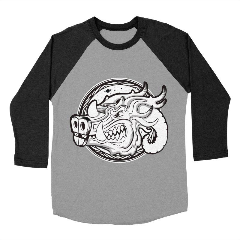 VIKING Men's Baseball Triblend Longsleeve T-Shirt by kukulcanvas's Artist Shop