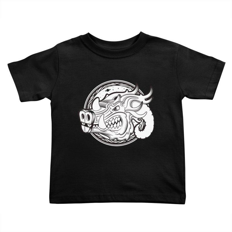 VIKING Kids Toddler T-Shirt by kukulcanvas's Artist Shop