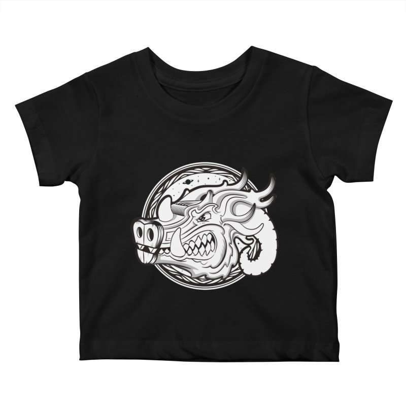 VIKING Kids Baby T-Shirt by kukulcanvas's Artist Shop