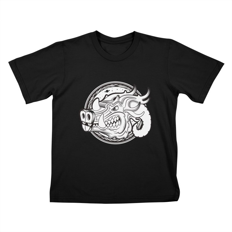VIKING Kids T-Shirt by kukulcanvas's Artist Shop