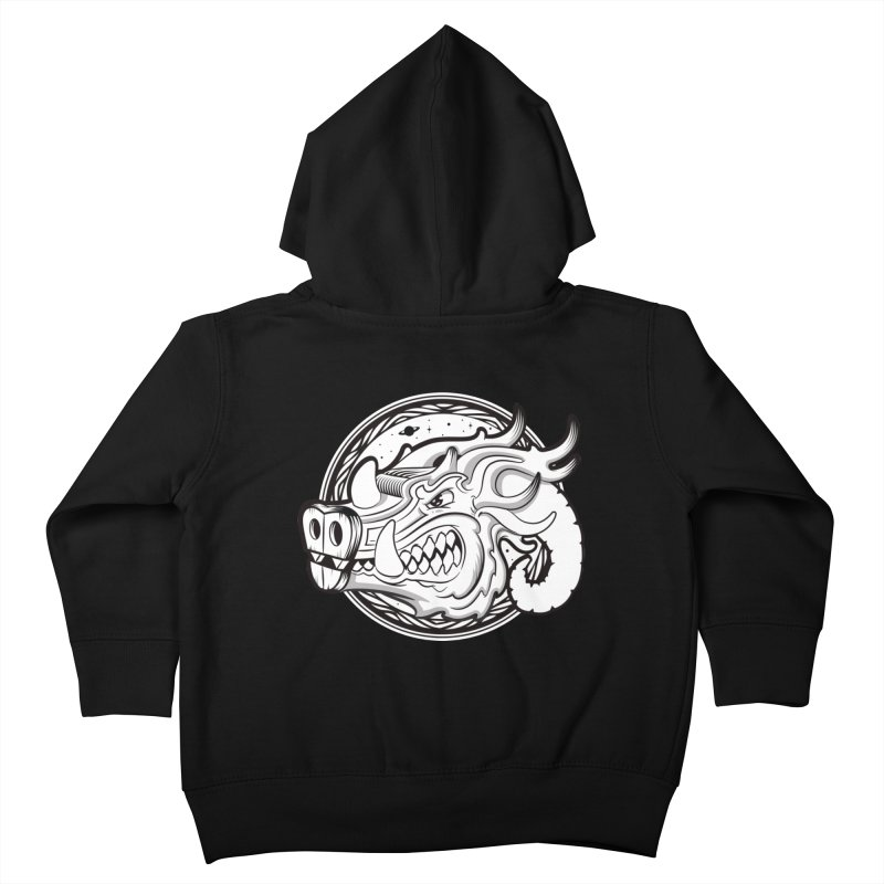 VIKING Kids Toddler Zip-Up Hoody by kukulcanvas's Artist Shop