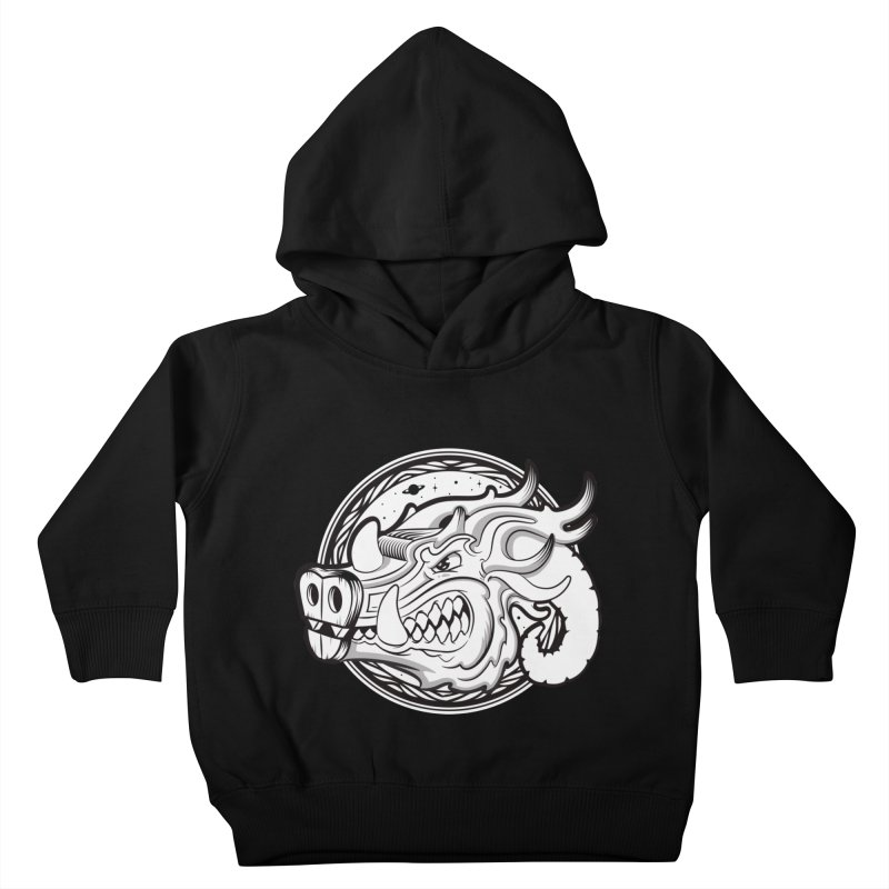VIKING Kids Toddler Pullover Hoody by kukulcanvas's Artist Shop