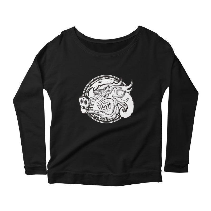VIKING Women's Scoop Neck Longsleeve T-Shirt by kukulcanvas's Artist Shop