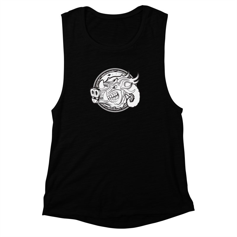 VIKING Women's Muscle Tank by kukulcanvas's Artist Shop
