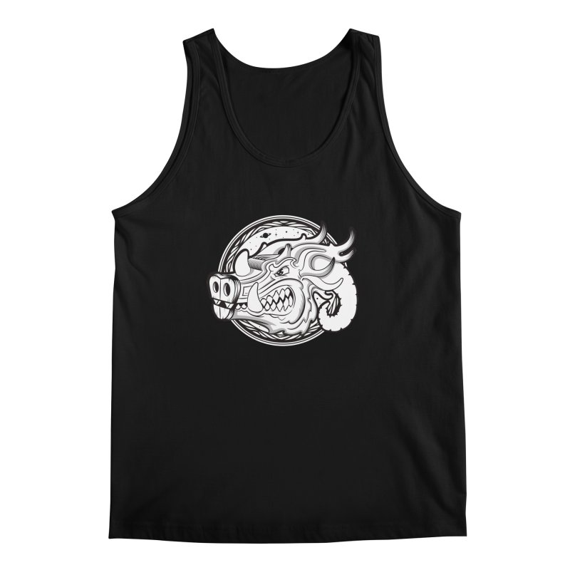 VIKING Men's Regular Tank by kukulcanvas's Artist Shop