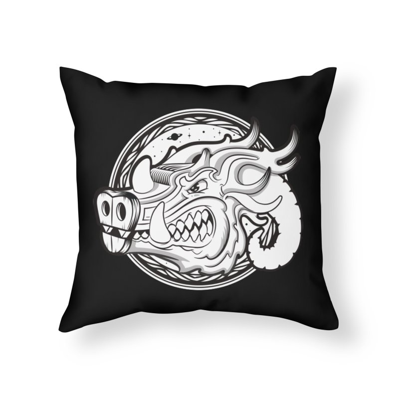 VIKING Home Throw Pillow by kukulcanvas's Artist Shop