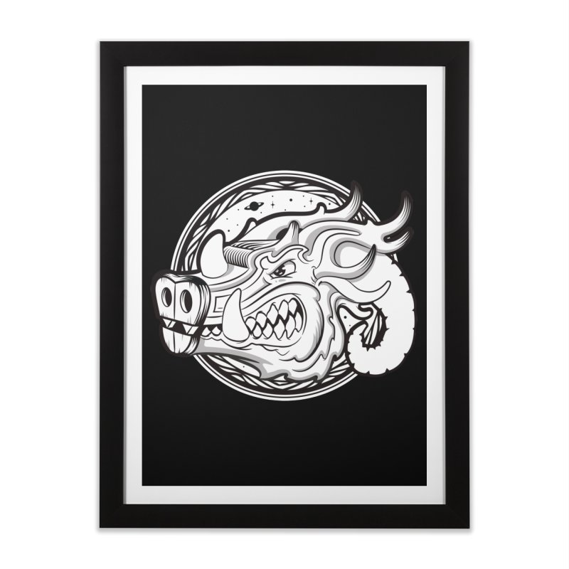 VIKING Home Framed Fine Art Print by kukulcanvas's Artist Shop