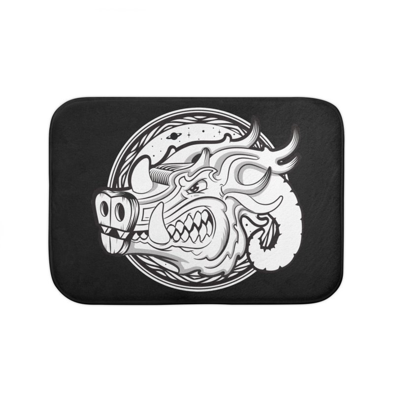 VIKING Home Bath Mat by kukulcanvas's Artist Shop