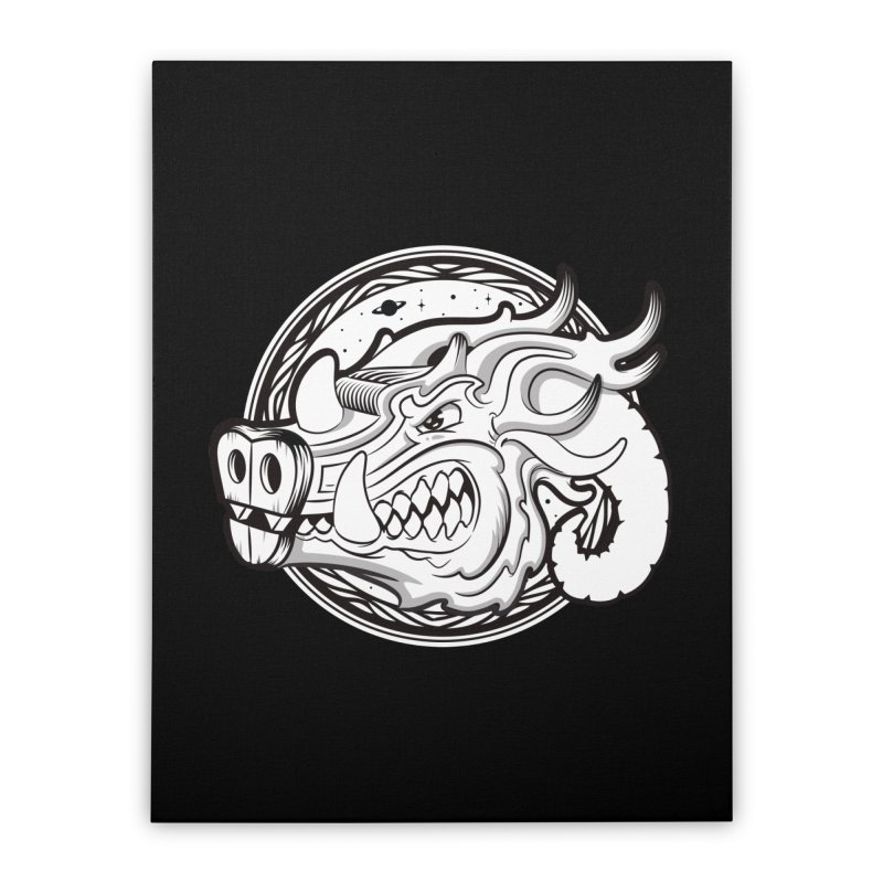 VIKING Home Stretched Canvas by kukulcanvas's Artist Shop