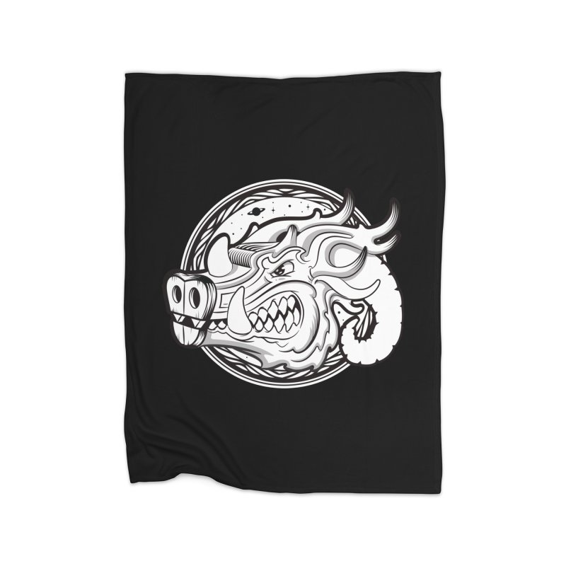 VIKING Home Fleece Blanket Blanket by kukulcanvas's Artist Shop