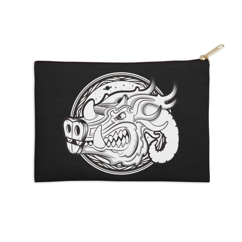 VIKING Accessories Zip Pouch by kukulcanvas's Artist Shop