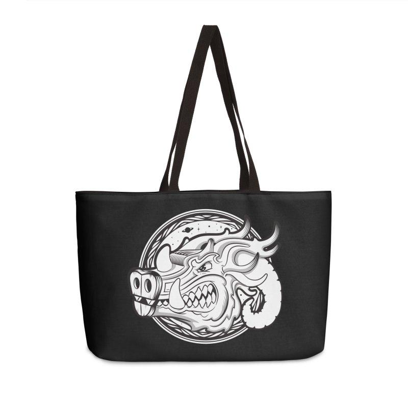 VIKING Accessories Weekender Bag Bag by kukulcanvas's Artist Shop