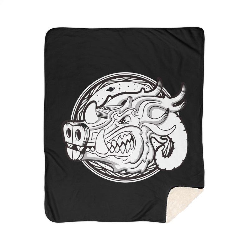 VIKING Home Sherpa Blanket Blanket by kukulcanvas's Artist Shop