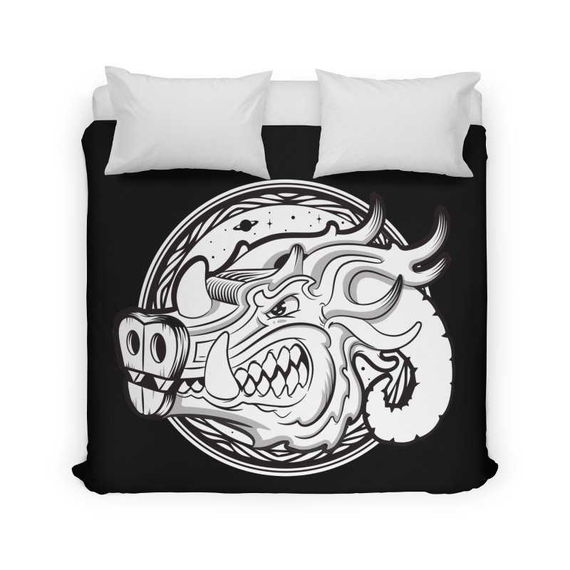 VIKING Home Duvet by kukulcanvas's Artist Shop