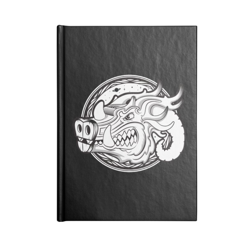 VIKING Accessories Lined Journal Notebook by kukulcanvas's Artist Shop