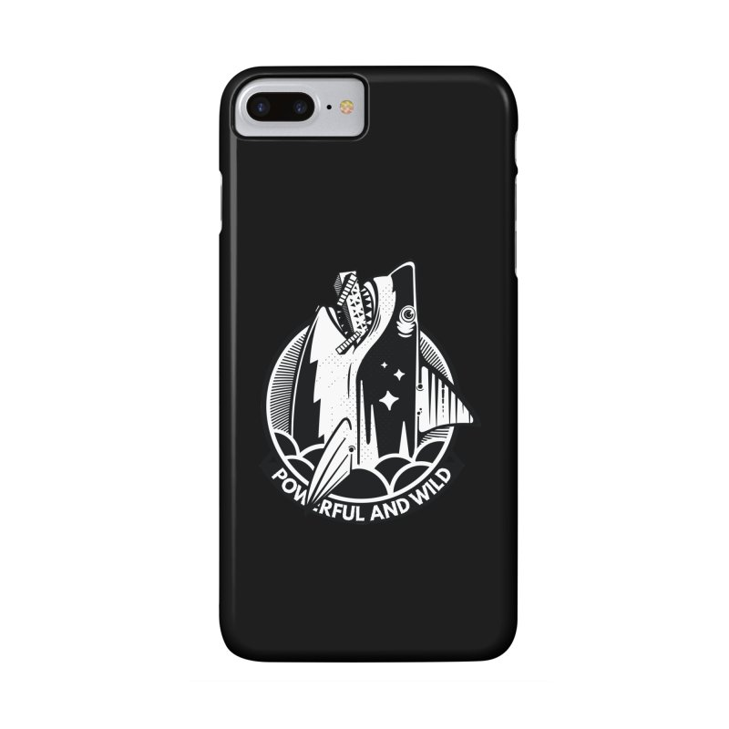 POWERFUL AND WILD Accessories Phone Case by kukulcanvas's Artist Shop