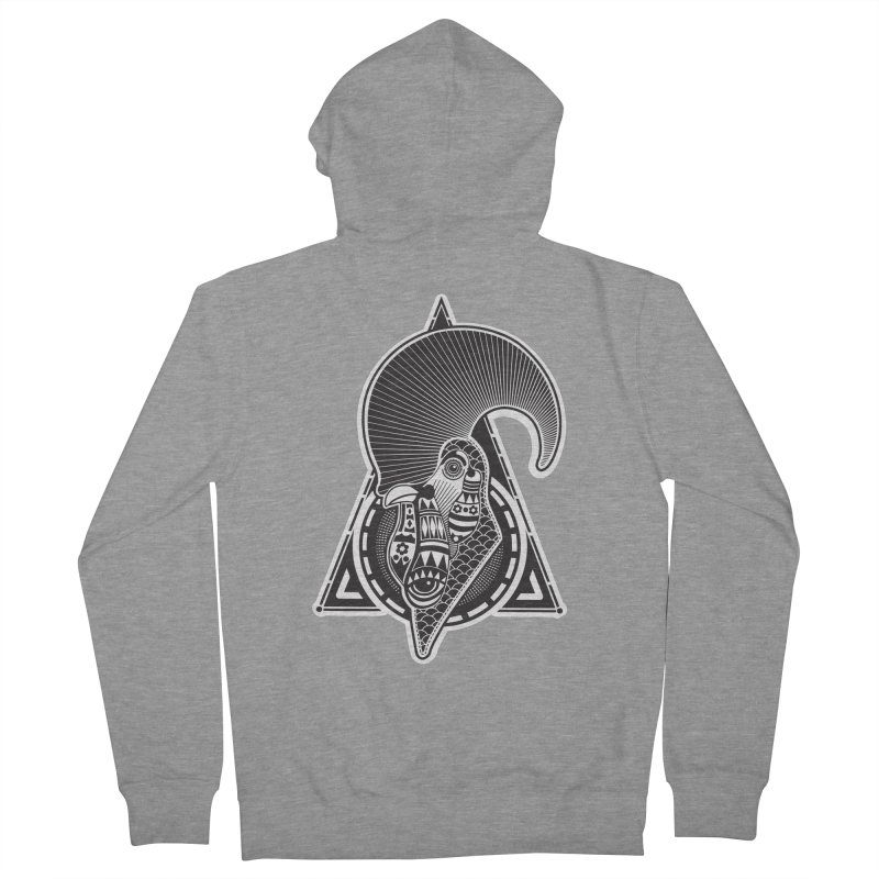 PICO E GALLO Men's French Terry Zip-Up Hoody by kukulcanvas's Artist Shop