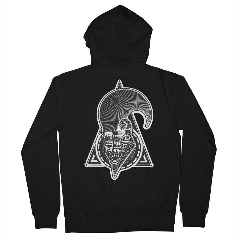 PICO E GALLO Men's Zip-Up Hoody by kukulcanvas's Artist Shop
