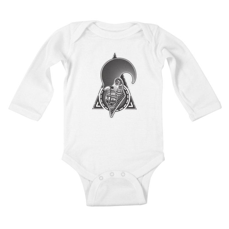 PICO E GALLO Kids Baby Longsleeve Bodysuit by kukulcanvas's Artist Shop