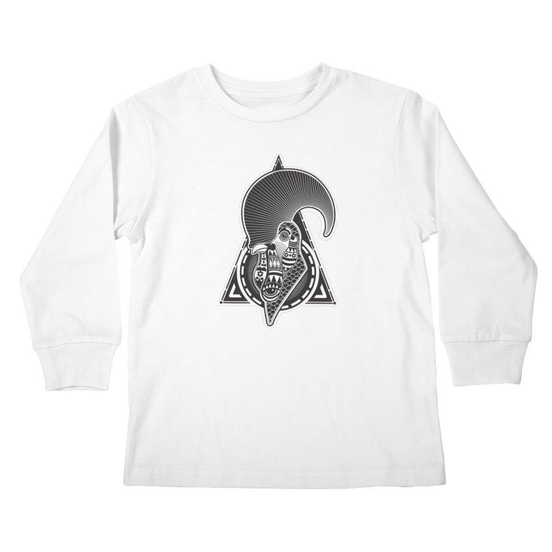 PICO E GALLO Kids Longsleeve T-Shirt by kukulcanvas's Artist Shop