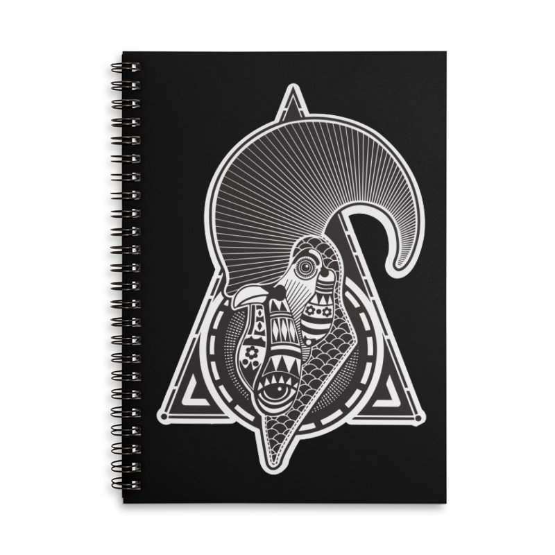 PICO E GALLO Accessories Lined Spiral Notebook by kukulcanvas's Artist Shop