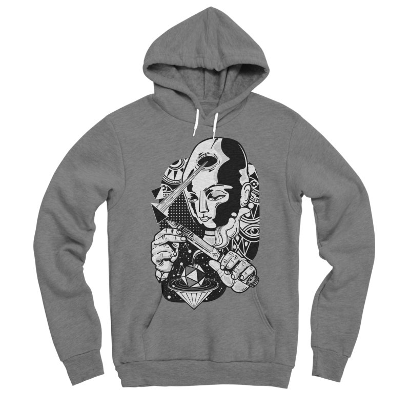 LOTOFACE Women's Sponge Fleece Pullover Hoody by kukulcanvas's Artist Shop