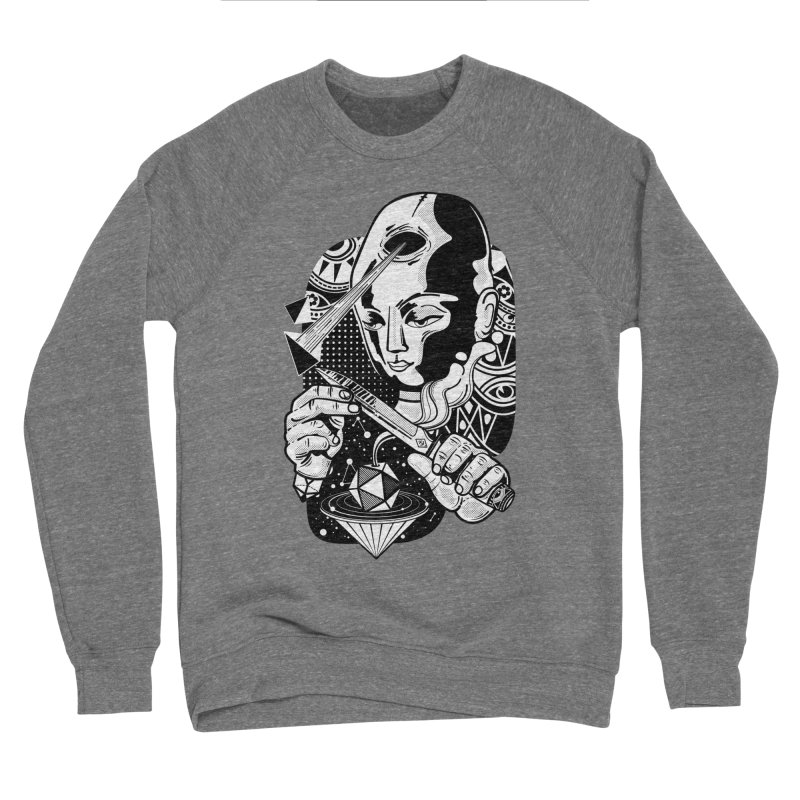 LOTOFACE Men's Sponge Fleece Sweatshirt by kukulcanvas's Artist Shop